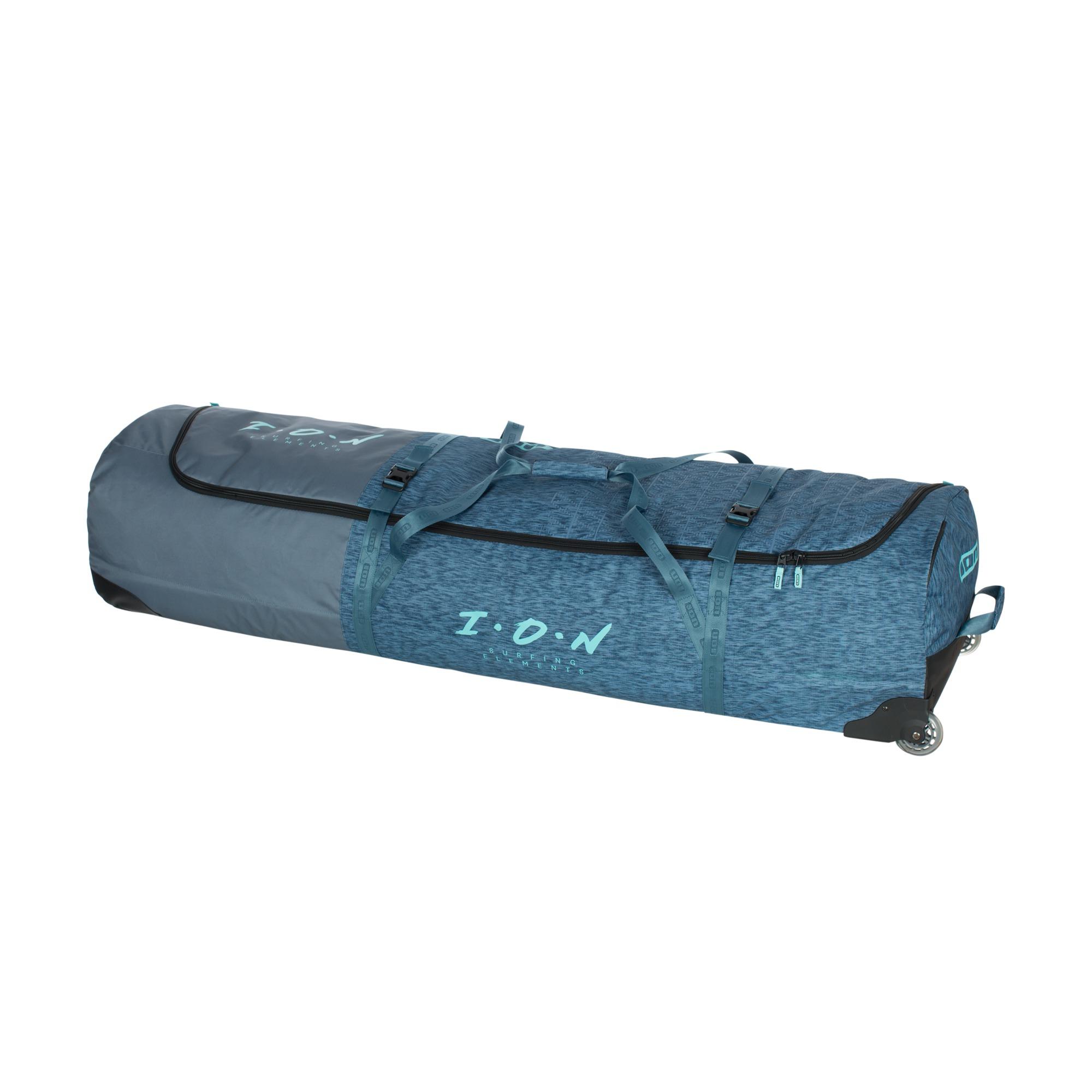 附拖輪風箏板裝備袋_藍