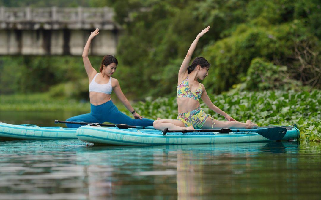峨眉湖SUP YOGA Sarah & Karen 老師_20200424